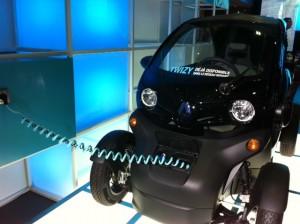 Twizy- voiture électrique