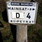 Borne Michelin-Visite médicale du permis de conduire