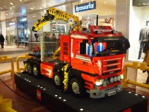 Camion en légos-Visite-medicale-permis-conduire
